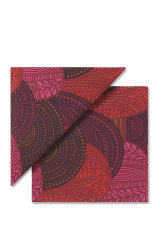 Marimekko Vuorilaakso Cocktail Napkins Red