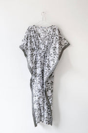 Nest Factory Block Print Kaftan Grey