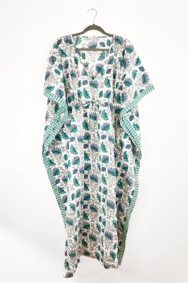 Nest Factory Block Print Kaftan Sea