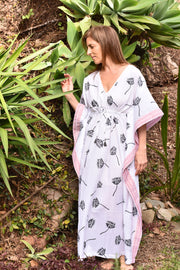 Nest Factory Block Print Kaftan Lotus