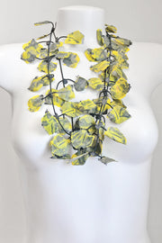 Annemieke Broenink Lace Necklace Summer Yellow