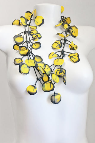 Annemieke Broenink Poppy Necklace Summer Yellow