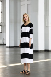 Ratia Adora Gown Black/White