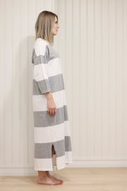 Ratia Adora Gown Grey/White