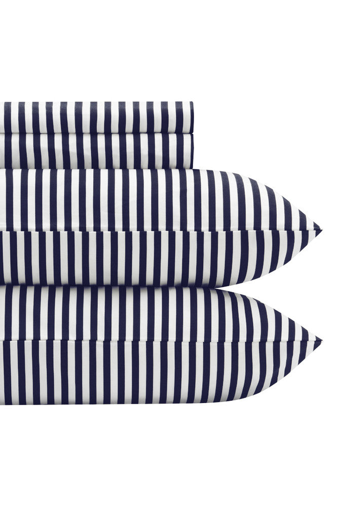 Marimekko Marimekko Ajo US Sized Sheet Sets Navy/White - KIITOSlife - 1