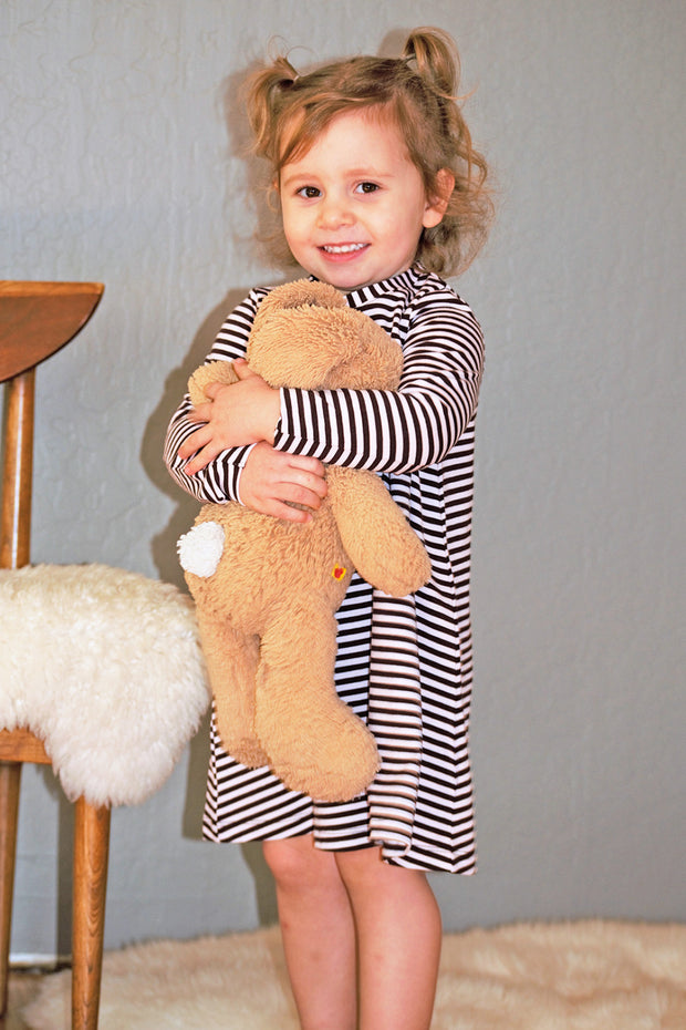 KIITOSlife KiitosKids Baby Stripe Kids Dress - KIITOSlife - 5