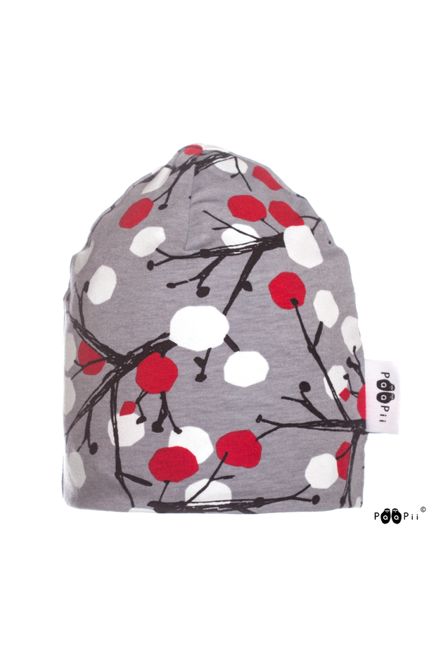 PaaPii Berry Tree Beanie for Adults & Kids