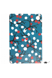 PaaPii Berry Tree Cutting Board Petrol