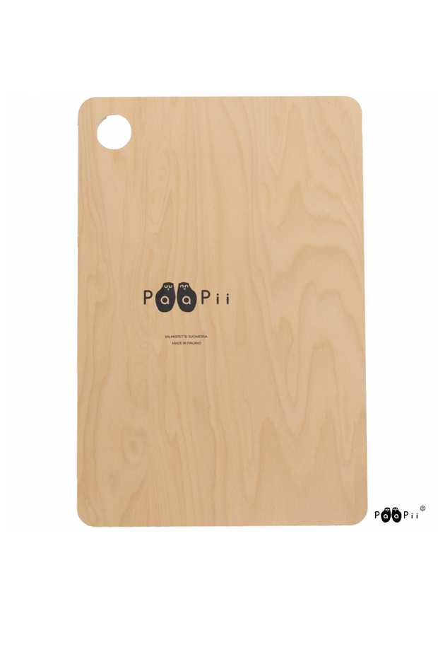 PaaPii Gates of Pohjola Cutting Board Black/White