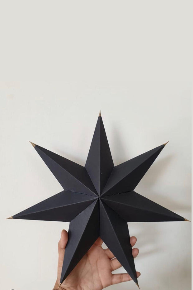 Nest Factory Small Black Paper Star