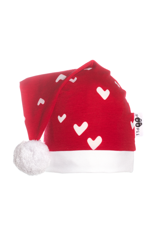 PaaPii Hearts Kids' Christmas Hat