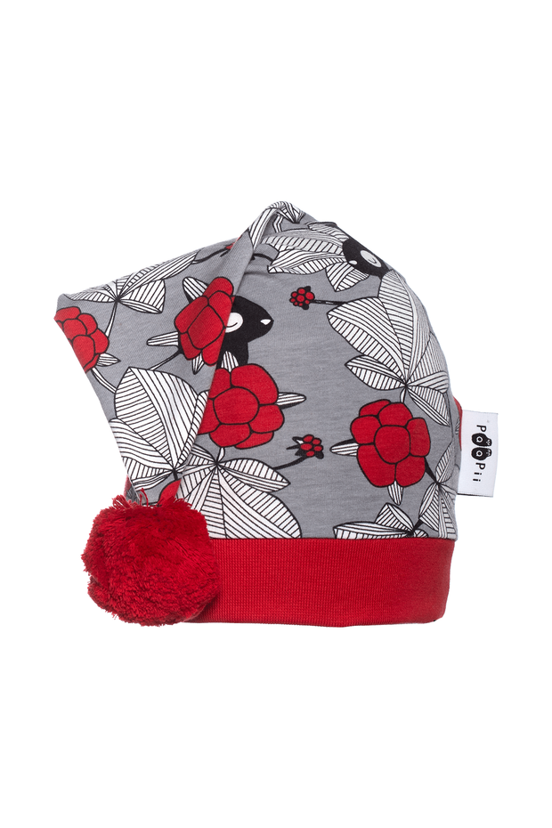 PaaPii Hilda Grey Kids' Christmas Hat