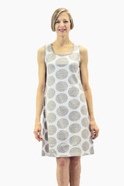 Ristomatti Ratia Circle Dress Grey/White