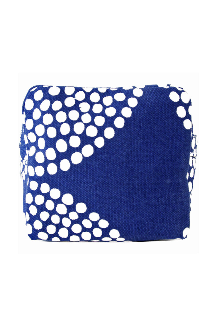 See Design See Design Small Cosmetic Bag Big Wheels Navy/White - KIITOSlife