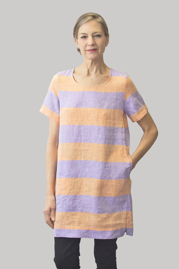 Ritva Falla Dimora Top Lilac/Orange