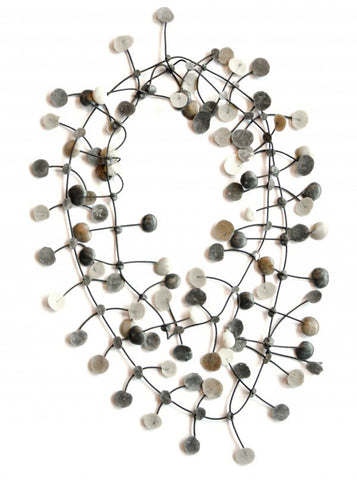 Annemieke Broenink Pop Dot Necklace Neutral