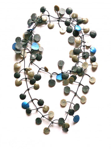 Annemieke Broenink Pop Dot Necklace Blue/Neutral