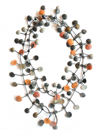Annemieke Broenink Pop Dot Necklace Copper/Neutral