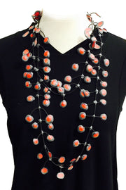 Annemieke Broenink Annemieke Broenink Dubbel Pop Dot Necklace Red - KIITOSlife - 4