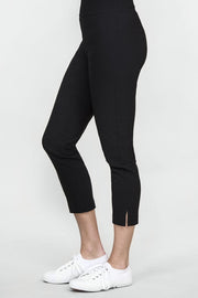 Ritva Falla Eeva Slit Pants Black