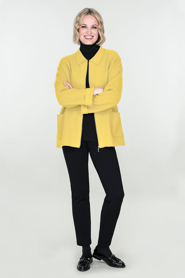 Ritva Falla Felpa Jacket Yellow