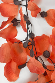 Annemieke Broenink Rose Petals Necklace Coral