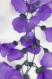 Annemieke Broenink Rose Petals Necklace Winter Purple