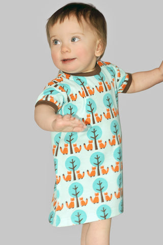 Sture&Lisa Kids Fox/Tree Dress