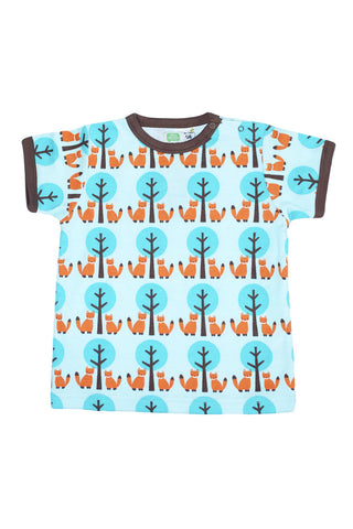 Sture&Lisa Kids Fox/Tree T-Shirt