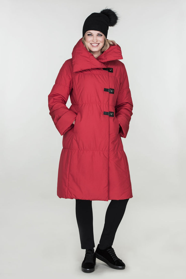 Ritva Falla Frei Coat Red