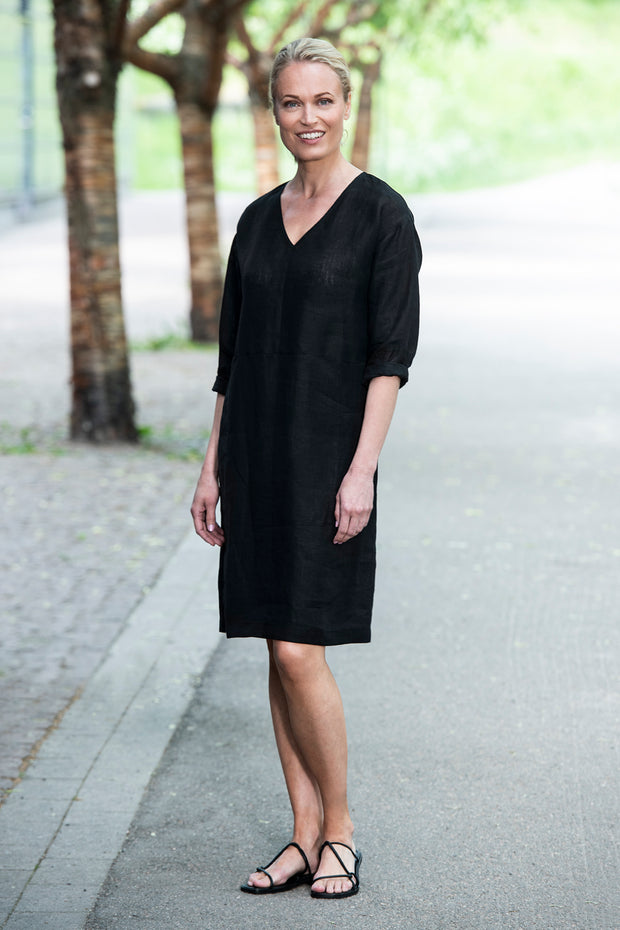 Ritva Falla Harriet Dress Black