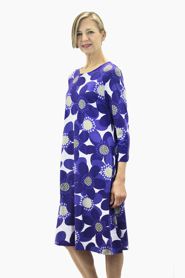 Ristomatti Ratia Sinivuokko Ilma Dress Blue/White