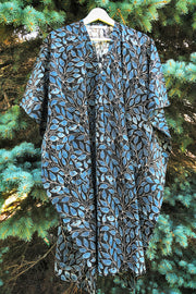 Nest Factory Kaftan w/Pockets Blue Leaf