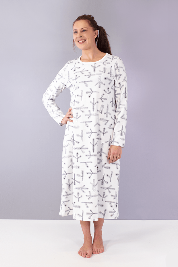 PaaPii Havu Inari Organic Cotton Jersey Nightgown