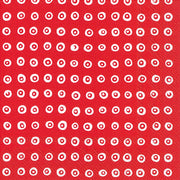 Marimekko Marimekko Karakola Cocktail Napkins Red/White - KIITOSlife