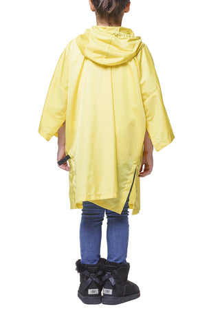 Daily Day Kids' Rain Poncho Yellow