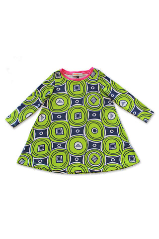 KiitosKids Modern Circles Kids Dress