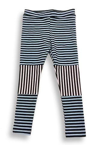KiitosKids Mixed Stripe Kids Leggings