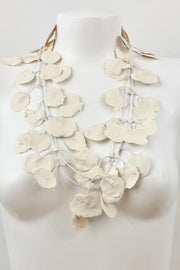 Annemieke Broenink Lace Necklace Ivory/White