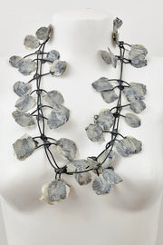 Annemieke Broenink Lace Necklace Oyster