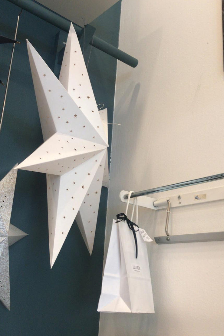 Nest Factory Large White Paper Star