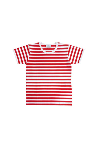 Marimekko Lyhythiha Kids' T-Shirt Red/White