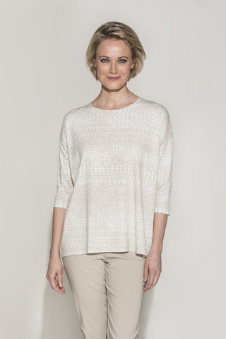 Ritva Falla Laura 1 Top Barley/Off White