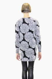 Ratia Leskenlehti Sumu Tunic Black/White