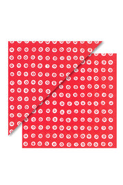 Marimekko Karakola Cocktail Napkins Red/White