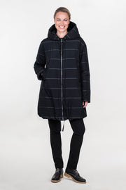Ritva Falla Maya Coat Black/Grey