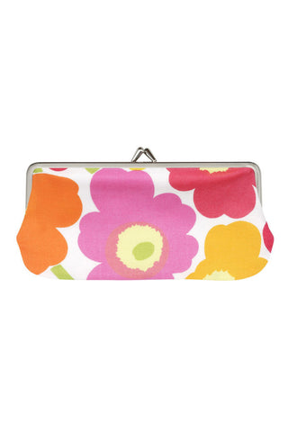 Marimekko Mini Unikko Silmalasikukkaro Pink/Orange/Yellow