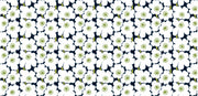 Marimekko Marimekko Mini Unikko Fabric Black/White/Green - KIITOSlife - 2