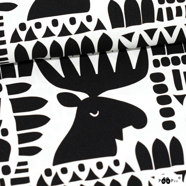 PaaPii Moose Cotton Fabric