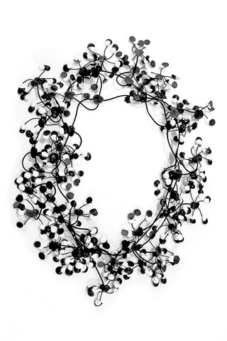 Annemieke Broenink Multi Dot Necklace White